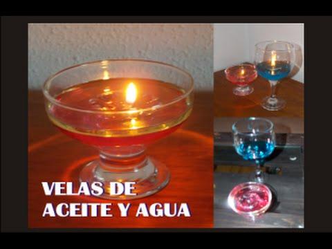 Como hacer velas de aceite y agua youtube - Como hacer velas ...