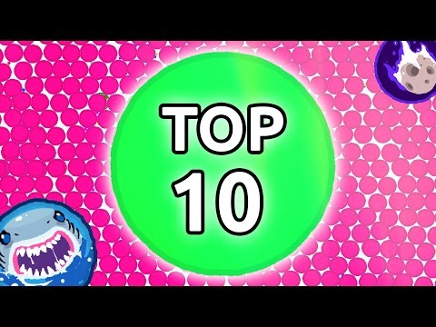 TOP 10 BEST TRICKS EVER! Agar.io - Best Moments and Tricks in Agario