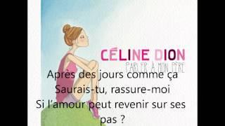 Watch Celine Dion Les Jours Comme Ca video