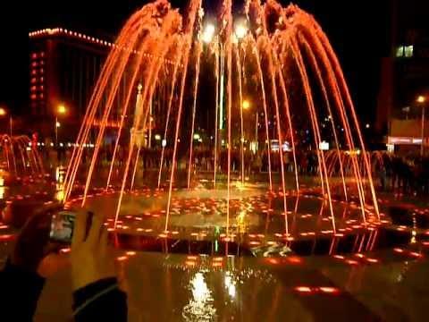 Новый фонтан в Краснодаре.