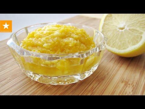 Как приготовить лимон с имбирем и медом - видео