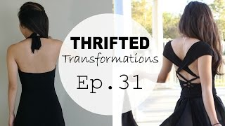 DIY Strappy Gown | Thrifted Transformations Ep. 31 (How-to Sew)
