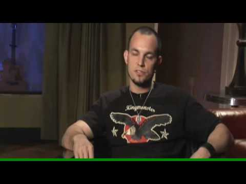 Rusty Cooley on Mark Tremonti's instructional Dvd
