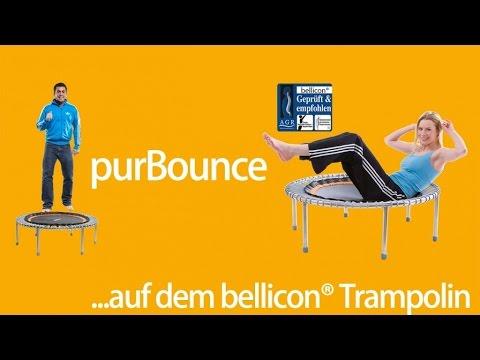 trampolin abnehmen übungen