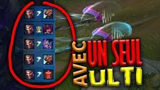 Un Draven sauve la game  AVEC UN SEUL ULTI !!!