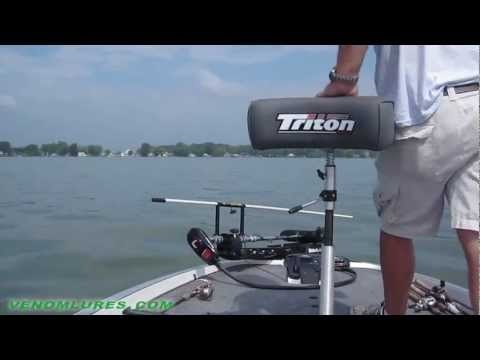 Venom Down Right Shallow Water Anchor Pole for Boats