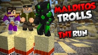 MALDITOS TROLLS - TnT Run c/ Vegetta Y Willyrex - MINECRAFT - sTaXxCraft