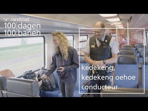Hoofdconducteur in de trein bij de NS   Dag 95 | Randstad