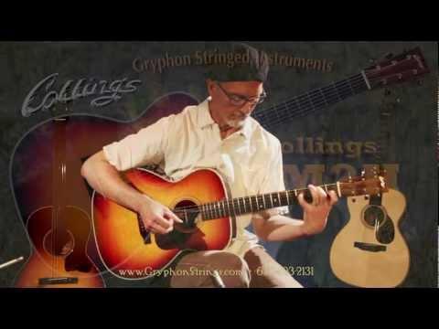 Collings OM2H Sunburst Acoustic Guitar demo by Rick Vandivier