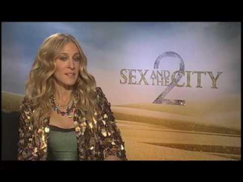 Sarah Jessica Parker (Sex and the City 2) Interview