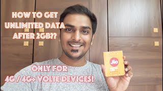 How To Get Unlimited 4G On Jio Sim After 2GB Data & Calls For 3 Months!