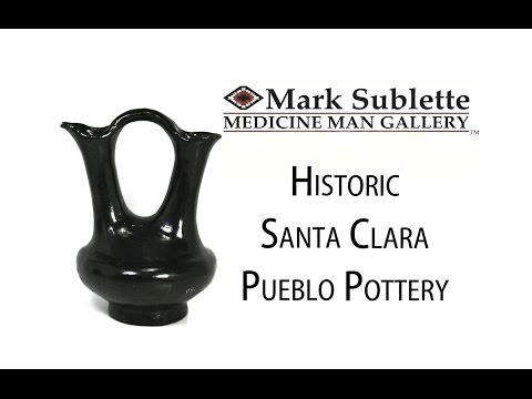 Native American Pottery: How to Identify and Price Santa Clara Pueblo Indian Pottery