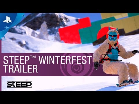 Steep - Winterfest DLC Pack Trailer | PS4