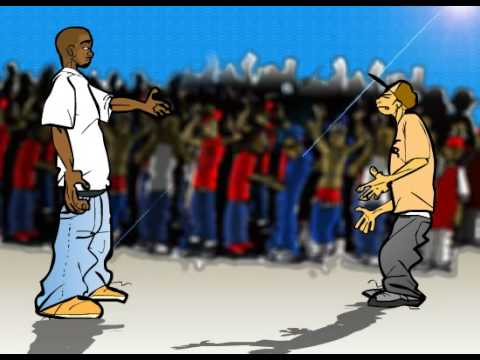 Fight Klub - Jin tha Emcee vs. Serius Jones (2009 animation)