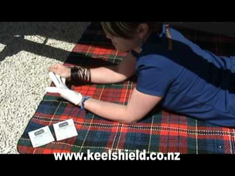 Fitting a Keelshield keelguard to your boat by girls.mpg Video