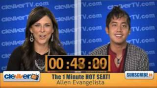 Allen Evangelista In The 1 Minute Hot Seat!