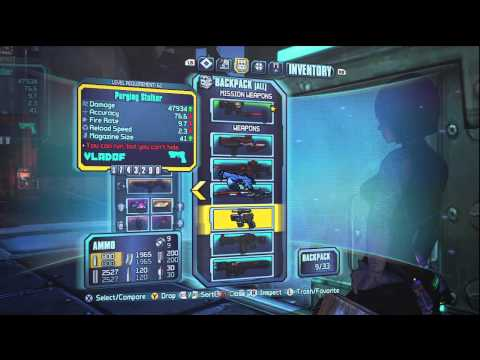Borderlands 2 All New Pearlescent Guns!