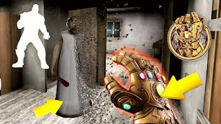 Thanos in Granny horror Game|| Thanos vs granny family|| Epic Battle