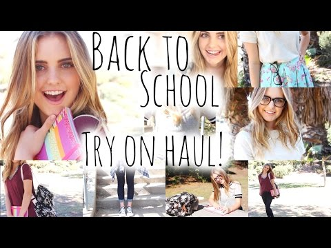 Back To School Try-On Clothing Haul + Outfit Ideas! | Aspyn Ovard