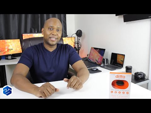 Ditto Wearable Tech for Smartphones - Vibrating Notifications Unboxing And Setup On Apple / Android