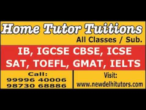 IB IGCSE HOME TUITION TEACHER TUTOR IN SOUTH DELHI VASANT VIHAR