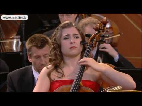 Europa Konzert, Alisa Weilerstein performs Elgar Cello Concerto