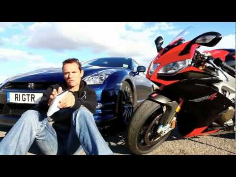 Aprilia RSV4 Vs Nissan GT-R: Battle Of The Computers