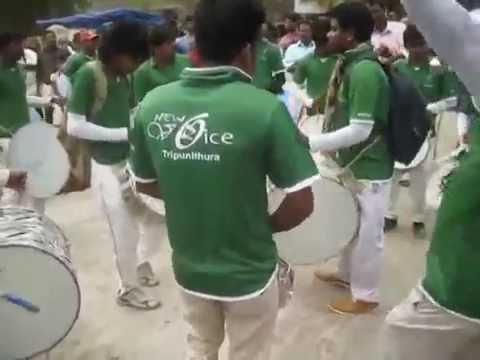 Nashik Dhol from Kerala By New Voice Thripunithura  Puttingal...