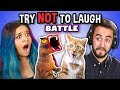 Try To Watch This Without Laughing or Grinning: Contagious Laughter Battle thumbnail