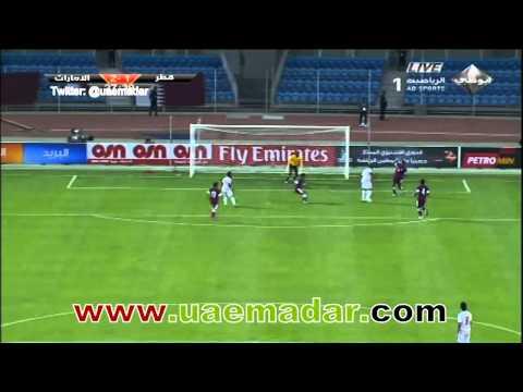 UAE 3-1 Qatar - gulf cup 21 2013