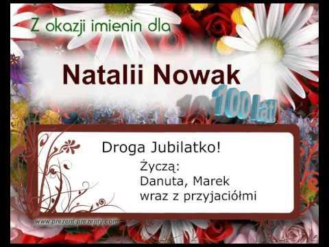Prezent, Piosenka Z Imieniem Natalia, Na Imieniny