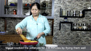 Hing Jeere ke Aloo - Potato fry with Asefetida and cumin seeds
