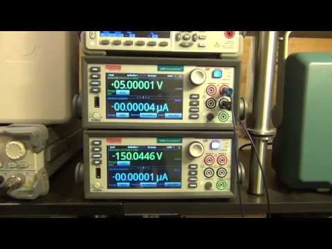 TSP #48 - Keithley 2460 Source Measure Unit (SMU) Review. Teardown and Experiments