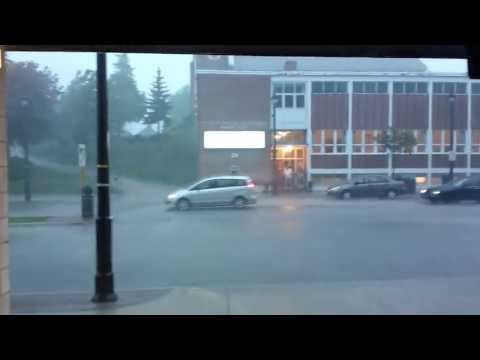 Storm of the Century! Barrie, ON. May 21, 2013
