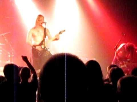 Ensiferum - Stone Cold Metal Live, Rytmikorjaamo, Seinäjoki, Finland 17.12.2010