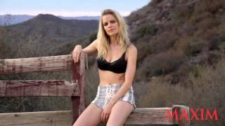 Go Behind The Scenes of Mircea Monroe's Sexy Maxim Shoot