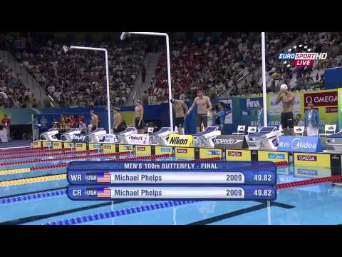 14th Fina Swimming.World.Championships.2011.mens.100m.butterfly.final