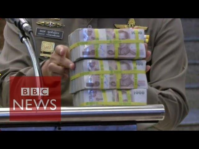 Bangkok police claim reward in Erawan Shrine bomber hunt - BBC News
