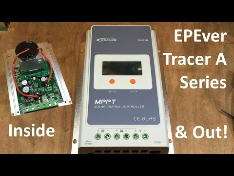 MPPT Charge Controller #Review - EPEver / EPSolar Tracer A Series - 12v Solar Shed