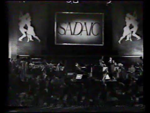 Roberto Goyeneche - Afiches -  En vivo Fiesta de SADAIC