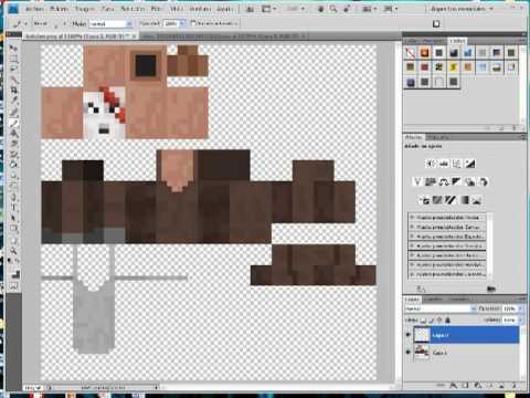 Minecraft :Como crear skin para aldeanos