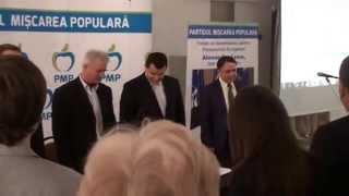 Imnul României s-a blocat la lansarea MPR la Chișinău