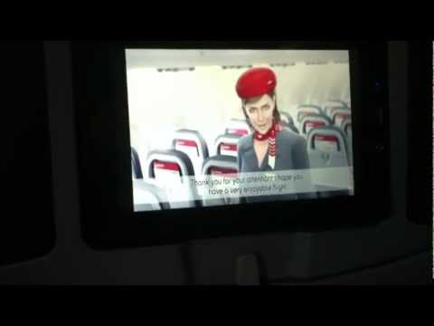 Airberlin A330-200 Safety Anouncement