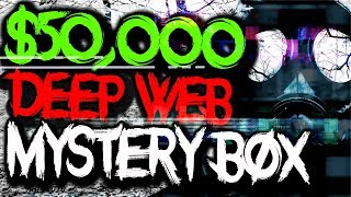 Buying EXPENSIVE $50,000 Mystery Box from the Dark Web.. (CRAZY)