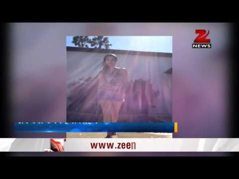 Sunny Leone throws ice bucket challenge on Honey Singh