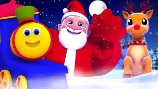 Bob xe lửa   tiếng leng keng chuông   bài hát giáng sinh cho trẻ em   Bob Jingle Bells Dance