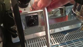 LM Strada 1EP real cool-touch steamwand