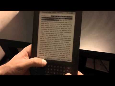 Kindle Keyboard 3G Review