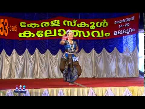 Swathika In School Kalolsavam 53 At Malappuram video