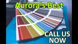 Painting Services Aurora | Residential and Commercial Painting Services